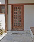 solid wood door Athens Greece