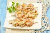 Several Garlic Shrimp