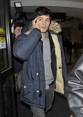Los Angeles - January 25: Actor Orlando Bloom Is Seen On The Pho