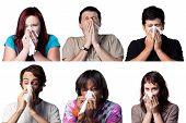 Sneezing People