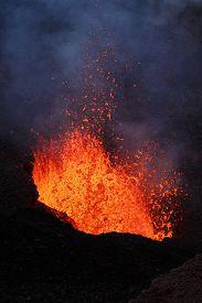 stock photo of magma  - Beautiful landscape - JPG