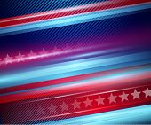stock photo of striping  - American Independence Day - JPG