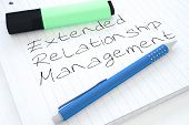 stock photo of extend  - Extended Relationship Management  - JPG