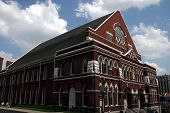 foto of tabernacle  - ryman auditorium in downtown nashville the  - JPG