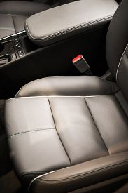 foto of long distance  - Comfortable Modern Compact Car Seats Vertical Photo - JPG