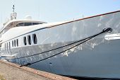 stock photo of sag  - Docking for a stay in Sag HarborHamptons Long Island