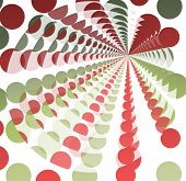 Abstract of dots