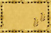 Autumn Golden Grunge Background