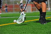 Lacrosse ball catching