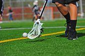 Captura de bola de lacrosse