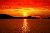 Red Sunset - Absolutely Colorful