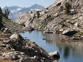 Spearpoint Lake in the John Muir Wilderness of Sierra National Forest.