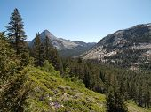 Piute Canyon in the John Muir Wilderness of Sierra National Forest