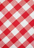 hi res red checked fabric tablecloth
