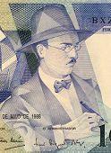 PORTUGAL - CIRCA 1988: Fernando Pessoa (1888-1935) on 100 Escudos 1988 Banknote from Portugal. Portu