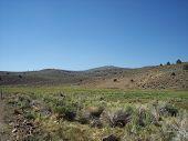 Lanscape Image. The Bodie Grassland