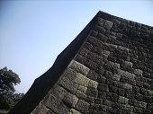 Castle Wall Sendai Japan
