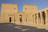 He Temple Of Isis At Philae Island. ( Egypt)