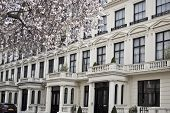 pic of kensington  - Part of Victorian building in Kensington area in London - JPG