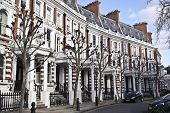 picture of kensington  - Part of Victorian building in Kensington area in London - JPG