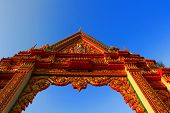 Thai Temple Gate.