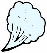cloud gust design element