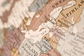 East Baltic Map Close Up