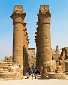 Africa, Egypt, Luxor, Amun Temple of Luxor.