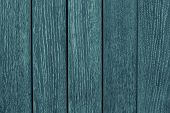 Green Wooden Fence Closeup. Green And Gray Wooden Table. Wooden Gray-green Boards. Wood Texture. Gre poster