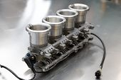 Racing Car Engine Component
