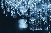 Chrystal Chandelier Close-up