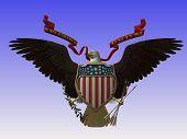 Eagle Flag Symbol