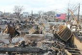 picture of hurricane wind  - BREEZY POINT - JPG