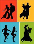 Bailarines de América Latina