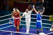 Italian Olympic Boxer Wins Gold