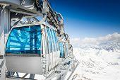 CableWay at winter - alpen resort