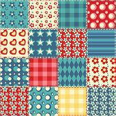 Quilt Seamless Pattern