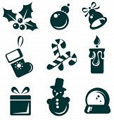 Christmas Symbols Set