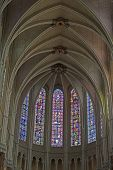fInterior of Chartres Cathedral