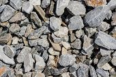 Pile Of Stones As A Pattern
