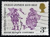 UNITED KINGDOM - CIRCA 1973: A stamp printed in Great Britain dedicated to 400th Anniversary of the