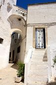 The Village Of Ostuni In Italy