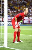 Goalkeeper Joe Hart Of England In Action