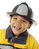 Close-up portrait of an adorable preschool