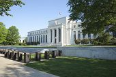 Federal Reserve gebouw In Washington, Dc