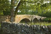 Burnside's Bridge At Antietam (sharpsburg) Battlefield In Maryland