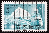 Postage stamp Canada 1965 Sir Wilfred Grenfell, Medical Missionary
