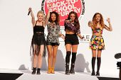 LOS ANGELES - AUG 9:  Perrie Edwards, Leigh-Anne Pinnock, Jesy Nelson, Jade Thirwall, Little Mix at the Teen Vogue's Back-To-School  Event at the The Grove on August 9, 2013 in Los Angeles, CA