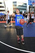 LOS ANGELES - AUG 9:  Josh Hutcherson at the Josh Hutcherson Celebrity Basketball Game benefiting St