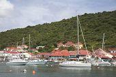 Hafen von Gustavia, St. Barts, französische Antillen